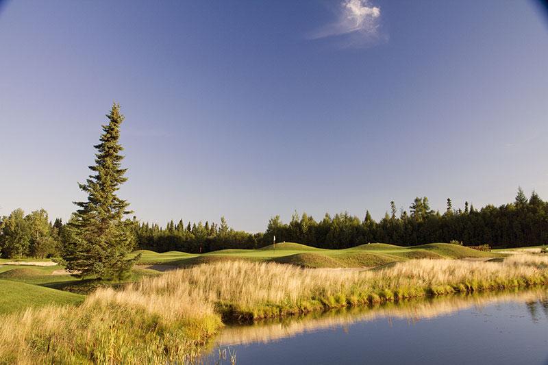 Golf Belvédère trou 10 11