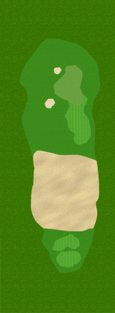 Golf Belvédère trou 9