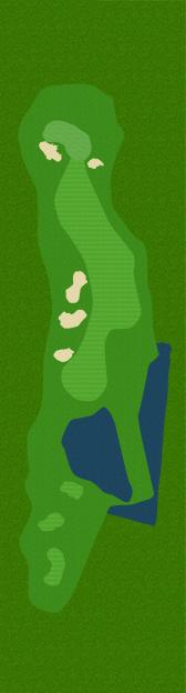 Golf Belvédère trou 15