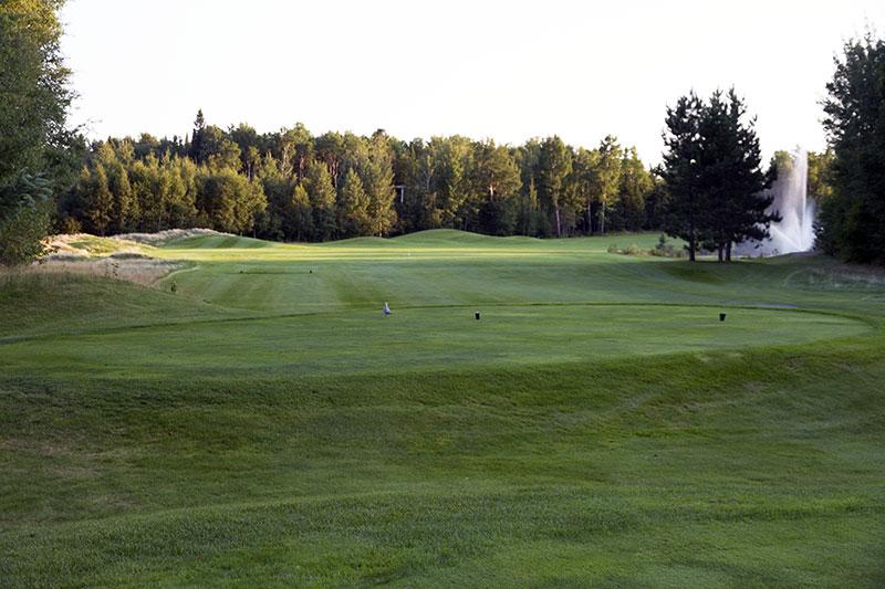 Golf Belvédère trou 5