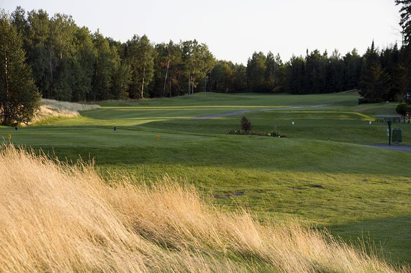 Golf Belvédère trou 4