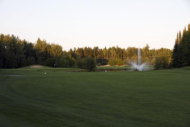Golf Belvédère trou 6
