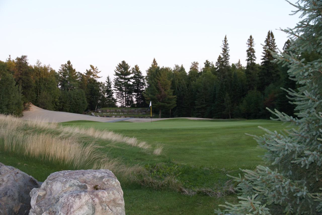 Golf Belvedere trou 9