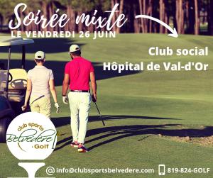 Soirée Mixte - Club Social Hôpital de Val-d'Or